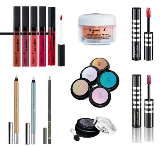 Agnès B maquillage de créateur en ligne