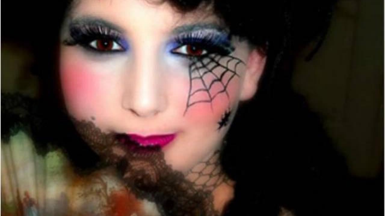 Maquillage halloween simple beaucoup d 39 effet - Maquillage halloween citrouille ...