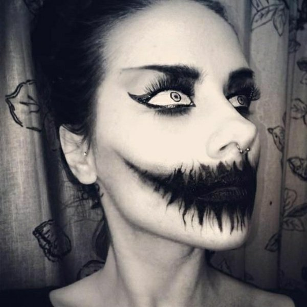 Maquillage Halloween Simple Beaucoup D Effet
