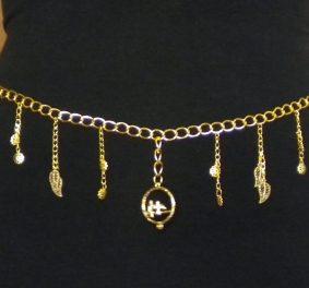 Ceinture bijoux, un style boho