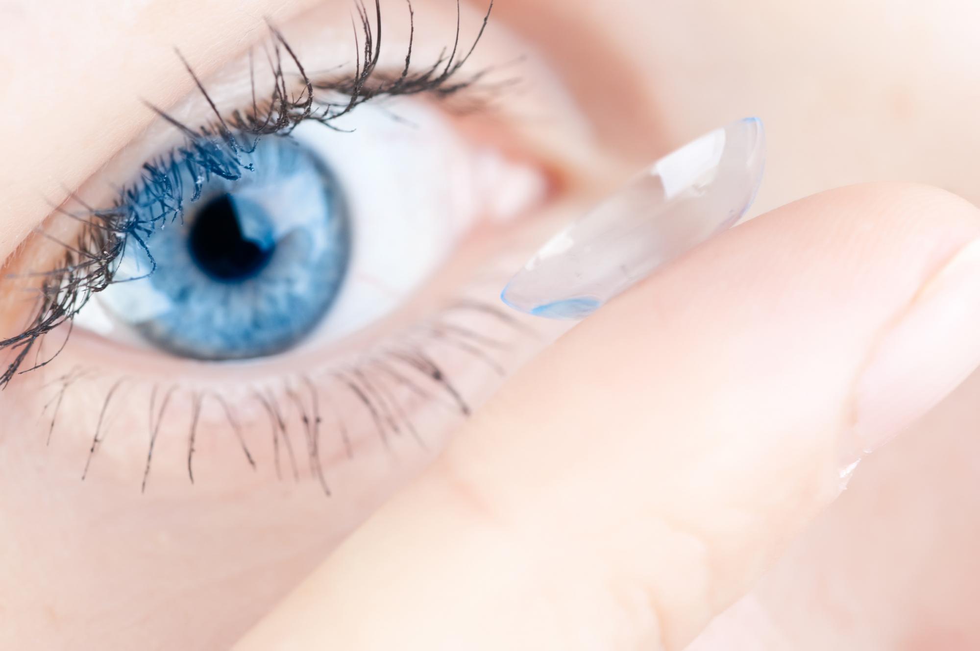 Porter les bonnes lentilles de contact