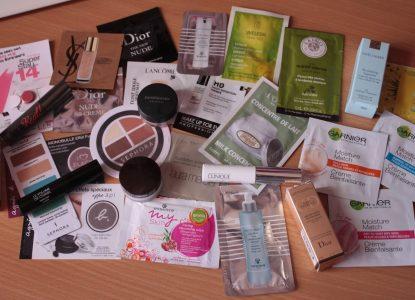 échantillons gratuits maquillage