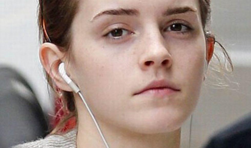 emma watson sans maquillage
