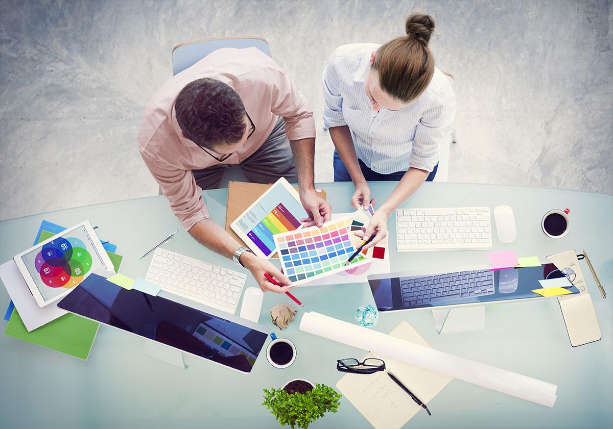 Design graphique : pour travailler en agence de communication