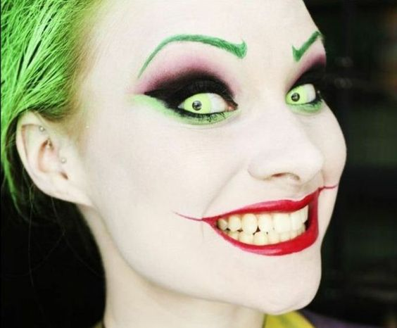 Maquillage halloween facile faire maison - Maquillage halloween latex ...