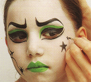 Maquillage halloween sorciere fille - Maquillage fille halloween ...
