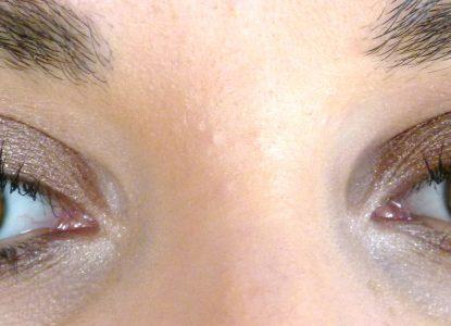 maquillage yeux marron vert