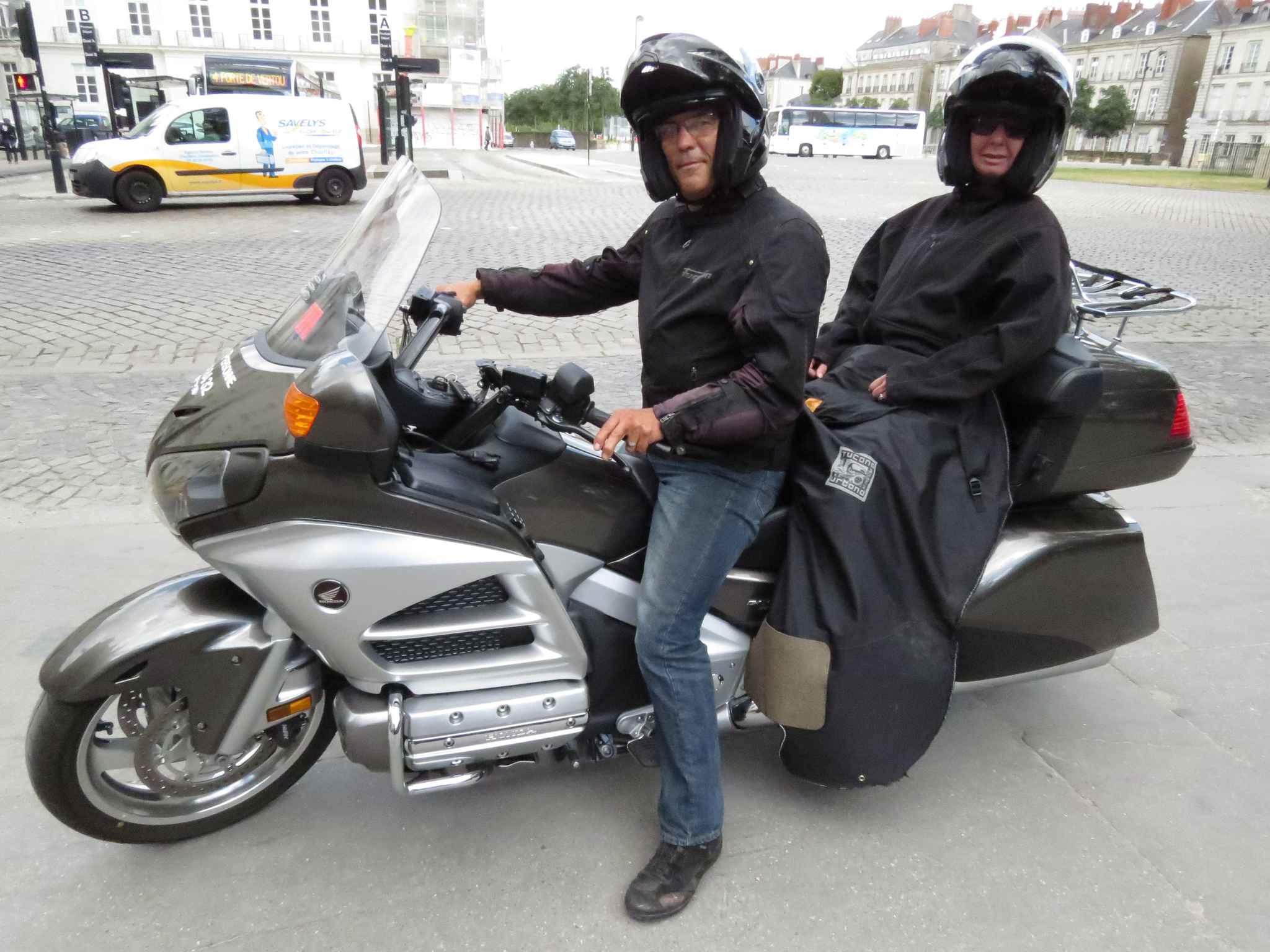 Taxi moto : je me déplace très rapidement