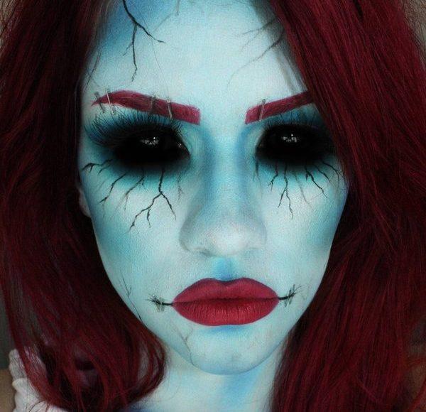 maquillage d halloween facile a faire
