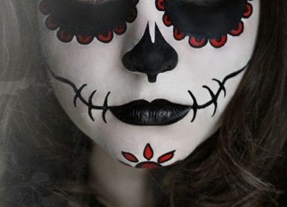 maquillage de halloween