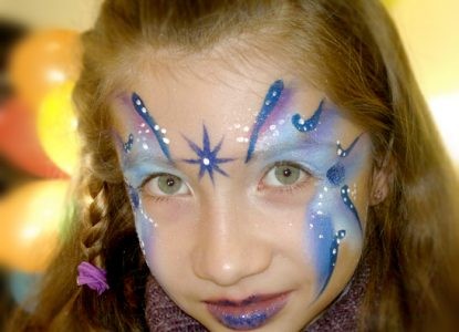maquillage noel enfant