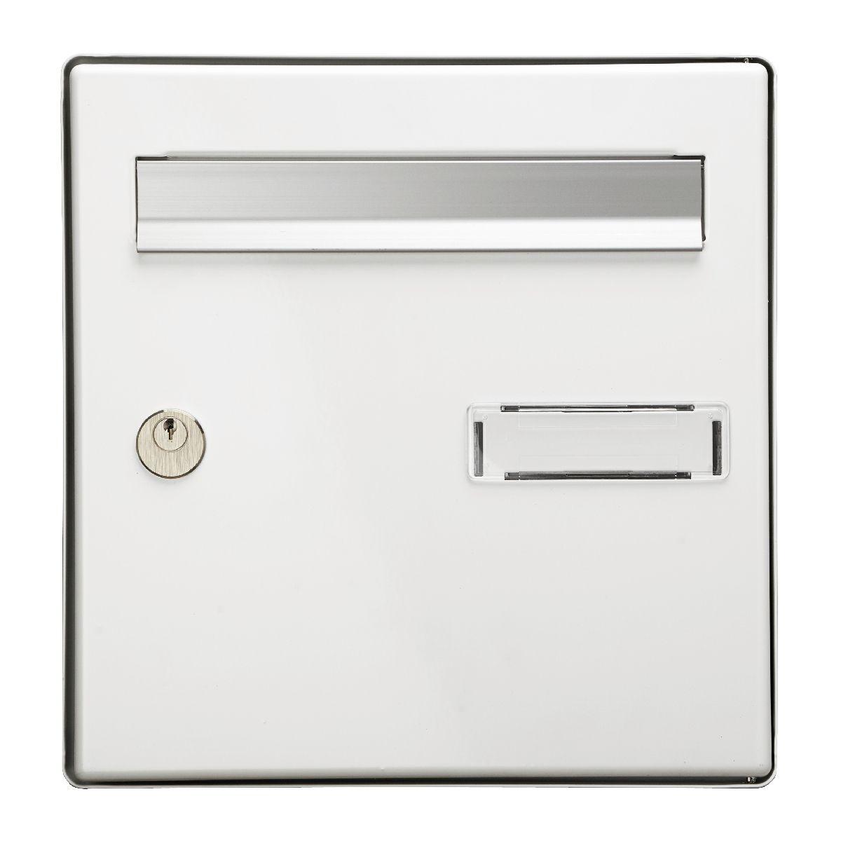 plaque boite aux lettres opter pour le meilleur mod le. Black Bedroom Furniture Sets. Home Design Ideas