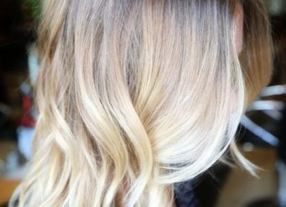 tie and dye blond platine
