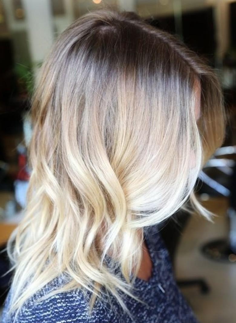 tie and dye sur blonde