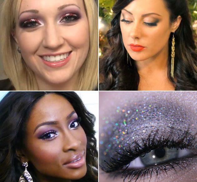 tuto maquillage noel