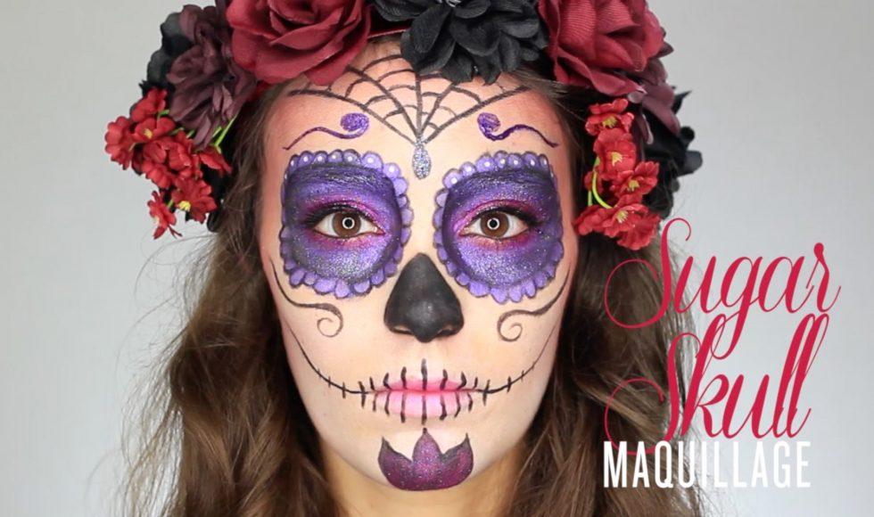 tutoriel maquillage halloween