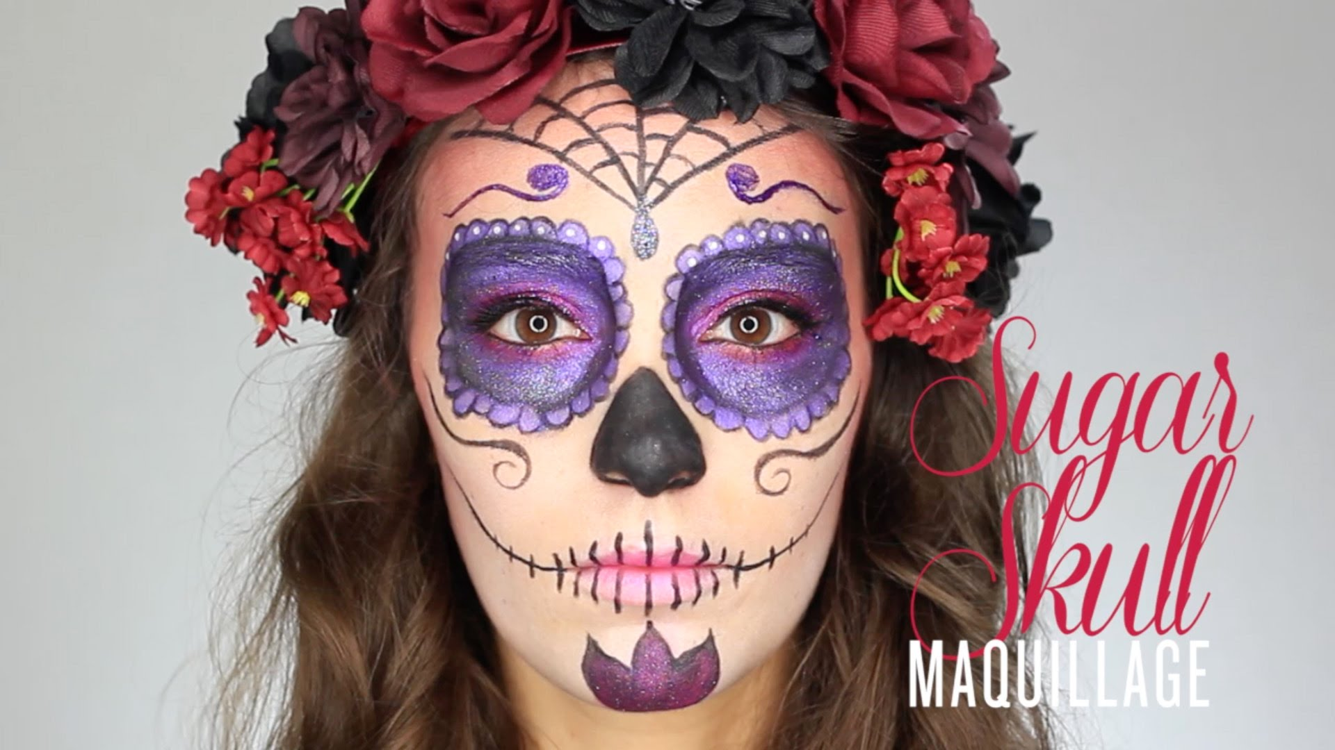 tutoriel maquillage halloween