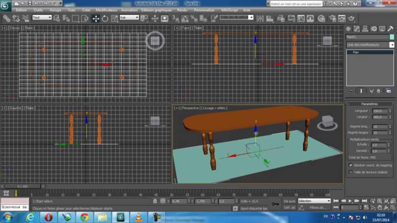 Apprendre 3DS Max : un logiciel que j'ai découvert pendant mes cours