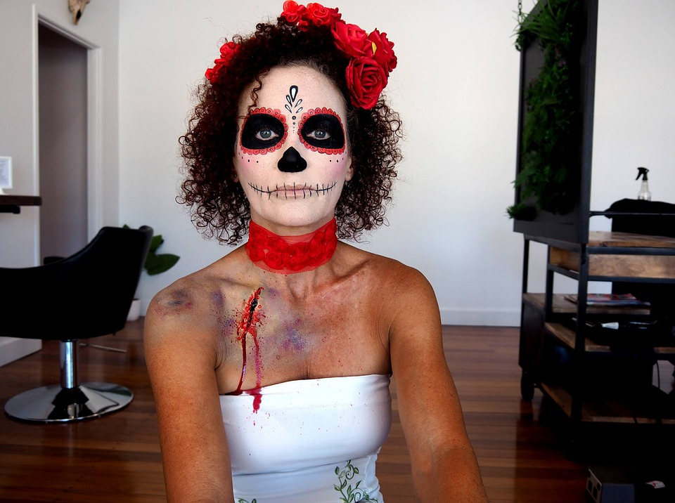 Un maquillage halloween